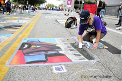 CityScope Net at Houston Via Colori Street Painting Festival