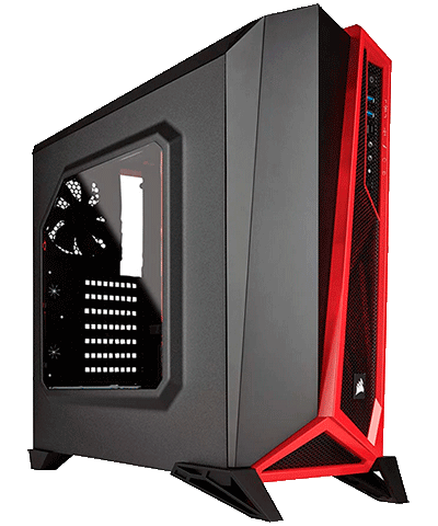 Corsair Carbide Case Gamer Cad System
