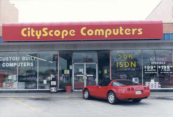 CityScope Computers Store from 1995 through 1999
