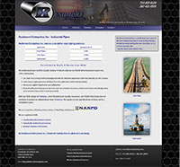 Rushmore Enterprises Inc - Responsive Web Designed Site