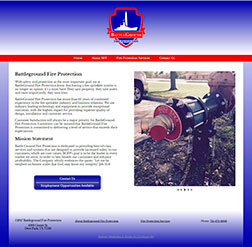 Battleground Fire Protection - Mobile Web Site
