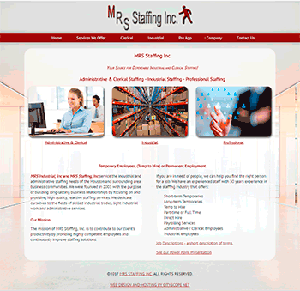 MRS Staffing Inc - Mobile Friendly and Responsive Website